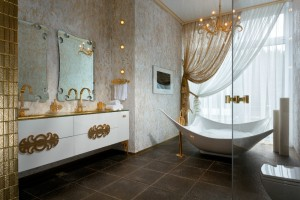 33-Gold-white-bathroom-decor